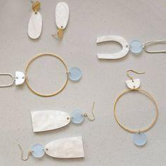The Sky + Cloud jewelry range. #minimalistjewelry