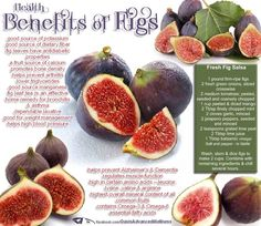 health benefits of Figs ... thanks Nutrition Solution Lifestyle