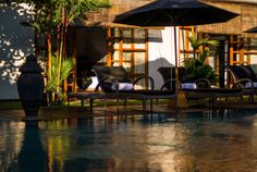 Bali Villa Photography - Villa Karishma - pool views late afternoon