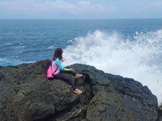 The mini laswit (splash) in Laswitan.   Laswitan, Cortes, Surigao Del Sur, Philippines