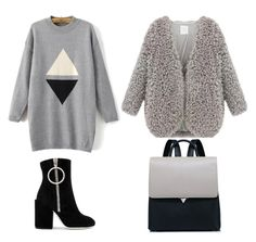 """""""♡"""" by iojikxamiak on Polyvore featuring WithChic and Off-White"""