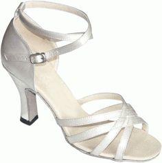 TPS Hot Pink Satin Latin Ballroom Salsa Custom-made Dance Shoes D751