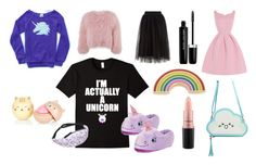 """""""Be a unicorn"""" by bookworm528 on Polyvore featuring Georgia Perry, MAC Cosmetics, Charlotte Simone and Marc Jacobs"""