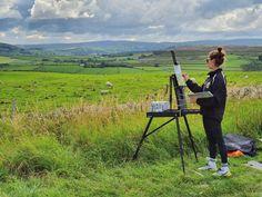 Georgina Saunders (@georginasaundersart) • Instagram photos and videos Mountains, Photo And Video, Videos, Nature, Photos, Travel, Instagram, Art, Art Background