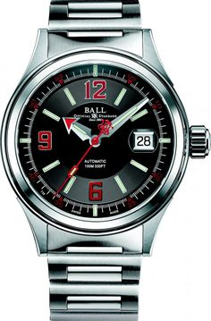 Ball Watch | Fireman Racer - Model NM2088C-S2J-BKRD