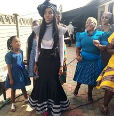 Xhosa Tradition Xhosa Attire, African Attire, African Wear, African Women, African Wedding Dress, African Print Dresses, African Print Fashion, African Fashion Dresses, South African Traditional Dresses