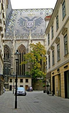 Vienna, Austria St. Stephens Cathedral - no building is allowed to stand taller than the doms of this church...