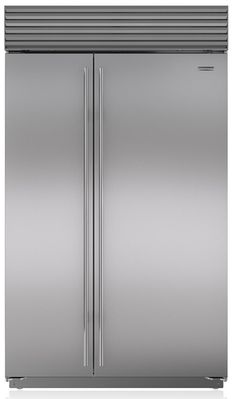 Best 48 inch counter depth refrigerators are True, Jenn-Air, and Thermador. Sub-Zero seems to dominate this niche with a better control, air scrubber, pure water filter and . Counter Depth Refrigerator, Side By Side Refrigerator, Kitchen Refrigerator, Refrigerator Freezer, French Door Refrigerator, Wire Shelving, Adjustable Shelving, Kitchen Remodel, Kitchen Reno