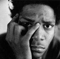 Jean-Michel Basquiat photographed by Ari Marcopoulos, -Grafitti style Artist Jean Basquiat, Jean Michel Basquiat Art, Basquiat Artist, Robert Rauschenberg, Andy Warhol, Famous Artists, Great Artists, Pablo Picasso, Keith Haring