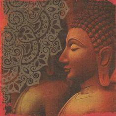 Pays : Serviette Asie et statue 33 cm X 33 cm 3 plis http://fournitures-loisirs.les-creatifs.com/serviettes.php?refer=Asie-et-statue