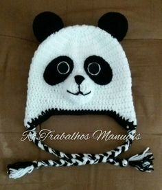 Touca Panda!!!