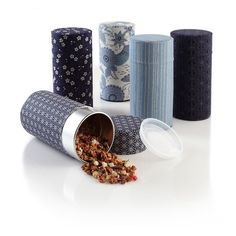 Tea tins and canisters are truly a must have if you are a fan of good tea. They give you the option of buying as much tea as you need and then be able to store them in their current freshness for as long as possible.  http://theteasupply.com/store/category/tea-tins-canisters/