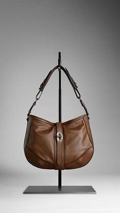 Burberry SMALL GRAINY LEATHER CROSSBODY BAG $1095