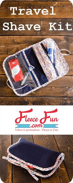 I love this great handmade gift idea for a guy! This free sewing tutorial is a perfect DIY idea for travel. This easy to sew project is perfect for even beginners. #sewing #sewingpatterns #crafting