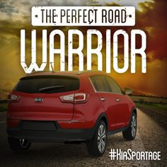 The perfect road warrior! #KiaSportage