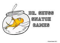 short/long vowel practice sheet/dice with Dr. Seuss style!