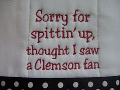 Haha too cute...but it would have to say UVA fan :)