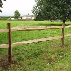 Pipe Fences Wood With The Durability Of Vinyl Coated