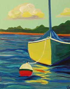 Sailing at Dawn *Paint Nite* Buy tickets at paintnite.com