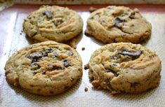 Gwen's dark chocolate chunk cookies 4