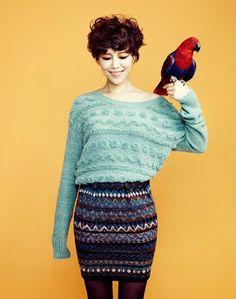 Ga In Brown Eyed Girls Campus10 Magazine November Issue 2012