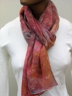 Nuno Felted and Hand Stamped/Stenciled Scarves - Felted Art to Wear | a mano studios