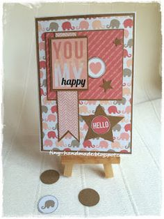 You are my happy Are You Happy, Frame, Cards, Handmade, Home Decor, Picture Frame, Hand Made, Decoration Home, Room Decor