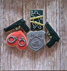 Crime Scene Police Cookies