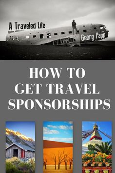 How to Get Paid Travel Sponsorships: Download the exact email templates used to successfully obtain paid travel sponsorships w/ BONUS video tutorial.