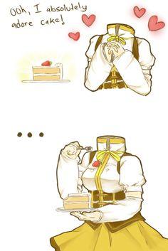 Mami Tomoe loves cake... [Puella Magi Madoka Magica]