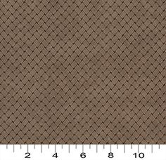 Charlotte Fabrics - 2859 Cocoa Trellis