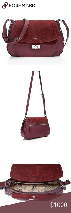 ISO Guess Kingsley Looking for this purse in the burgundy color. I saw it on here a few weeks ago and was going to purchase it when my paycheck came but I had one family emergency after another than I can't find the purse anymore. Let me know if you see someone selling this! I would really appreciate it. :) Guess Bags