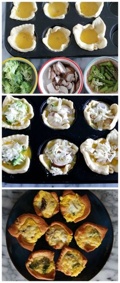 Easy Mini Breakfast Quiche Step by Step
