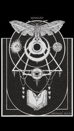#alchemy #moth #arcane
