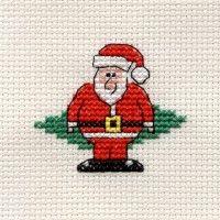 Borduurpakket Santa