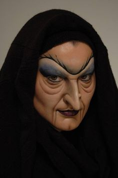 Old witch face paint @Charleen McKethan McKethan Mcbride for your disguise? haha