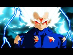 (1) Vegeta Super Saiyan White Royal Bloodline Transformation - Anime War - YouTube