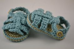 Summer Baby Sandals 03 Months by ramseyworld on Etsy, $12.00
