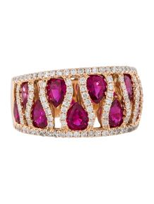 2.70ctw Ruby and Diamond Ring