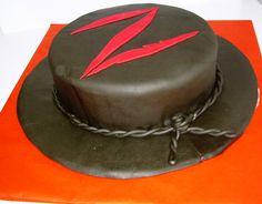 Tarta personalizada y decorada como el sombrero del zorro elaborada por TheCakeProject en Madrid