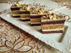 Hungarian Recipes, Tiramisu, Food And Drink, Favorite Recipes, Treats, Baking, Sweet, Ethnic Recipes, Cakes