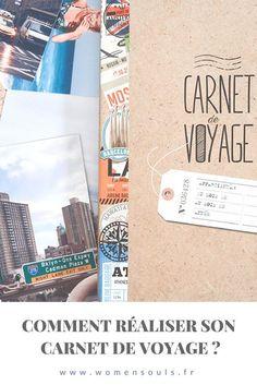 Débuter son carnet de voyage - Conseils & Exemples #traveldiary #bulletjournal #travel