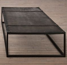 Tesoro Coffee Table from Restoration Hardware; love this table!