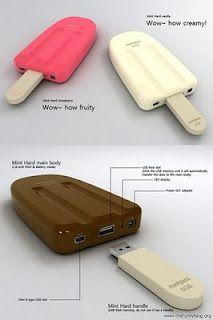 Helados de Paleta USB