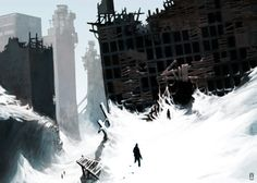 OLD environment Concept Art by torvenius.deviantart.com on @deviantART