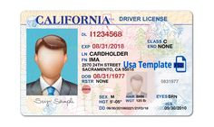 The marvellous California Driver License Template. Open California Psd File Intended For Blank Drivers License Template picture below, is section … Ca Drivers License, Drivers License California, Driver License Online, Driver's License, Birth Certificate Template, Id Card Template, Money Template, Passport Online, Real Id