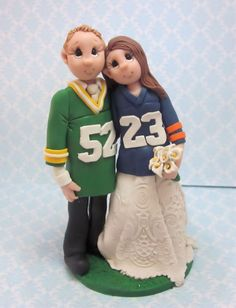 Reserved   Wedding Cake topper by lynnslittlecreations on Etsy, $75.00