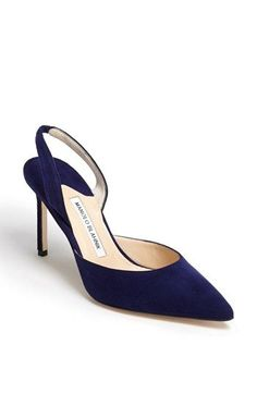 Manolo Blahnik 'Carolyne' Pump available at #Nordstrom