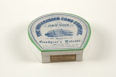 Box for Children's Long Combs no. 50, The India Rubber Comb Company, New York, New York, undated | Ephemera collection, 2011 donation (EP002) -- Historic New England
