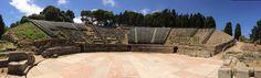 Teatro greco di Tindari ( Sicilia) http://agriturismosiciliavillarica.wordpress.com/2014/07/25/il-teatro-dei-due-mari-2014-a-tindari/